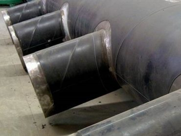 Pre-Fabrication of pipes and fittings at site